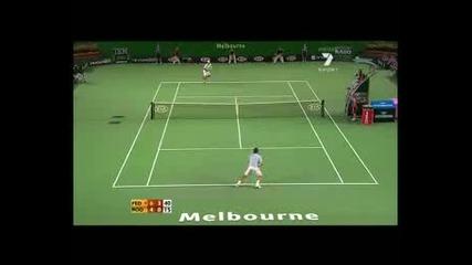 Федерер Vs Родик Aus Open 2007