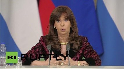 Russia: Kirchner announces nuclear power plant deal with Russia