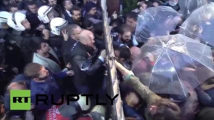 Turkey: Police raid Koza Ipek Holding's Istanbul offices ahead of general election