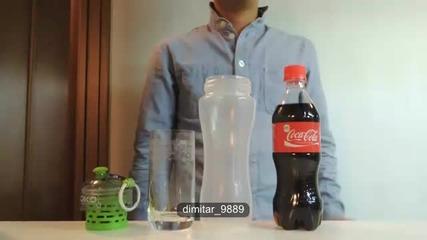 Филтриране на водата от Кока-кола