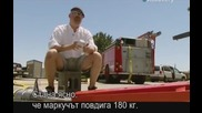 Ловци на митове - Популярни митове по интернет - Пожарникарско повдигане - S06e11 - с Бг превод