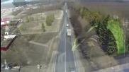 Ето Как Руското Кат Се Справя С Джигитите На Пътя