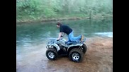 Big Atv Water Wheelies