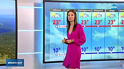 Прогноза за времето (19.10.2019 - обедна емисия)