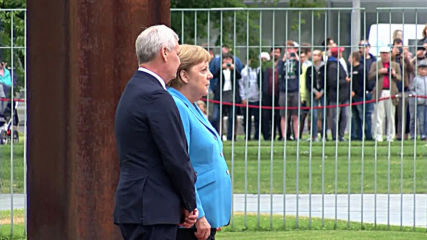 Germany: Merkel seen shaking in public for third time in a month