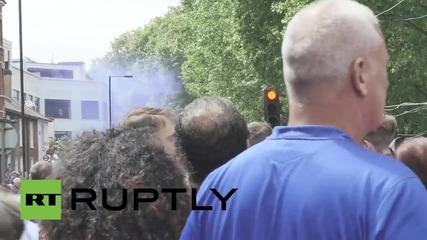 UK: Chelsea celebrate Premier League title through West London's streets