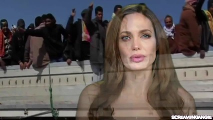 Angelina Jolie Message-world Refugee Day 2012