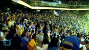 Golden State Warriors -- Street Fights and Death Defying Jumps ... In Victory Celebration