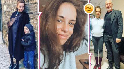 Радина Кърджилова в очакване на чудото и очарователни нови семейни снимки