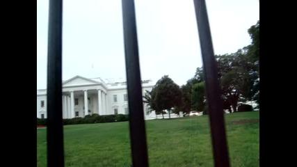 Андреа пред Белия дом