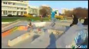 Гадно падане със скейтборт