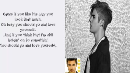 ♪ 2016 ♪ Justin Bieber - Love yourself [ Lyrics Video ]