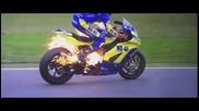 Призрачен ездач -мотоциклет в огън