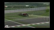 Rfactor Wcp 09 - Катастрофата на Хайме Алгерсуари в неделния ден