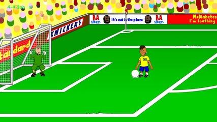 *смях* Бразилия - Хърватия (3-1)