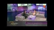 Теодора в Сподело с Вихра - Tv7 (29.06.2012) - част 2