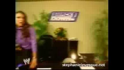 Undertaker saves Stephanie