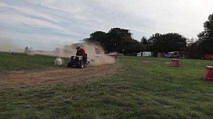 UK: Turf wars! Lawn mower racing world championships hit Kent