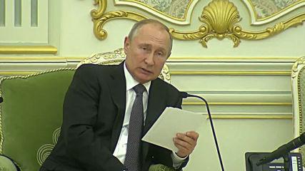 Saudi Arabia: Putin, Crown Prince Mohammed bin Salman hold talks