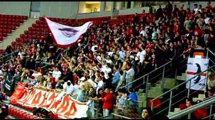 Волейбол: Ц С К А 0 - 3 Аркас Измир (18.01.2012) - Але напред червените !