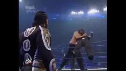 Jeff Hardy срещо The Great Khali(smackdown 01.08.08)