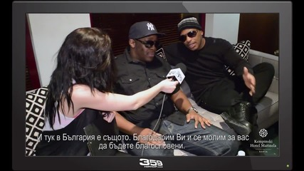 Blackstreet в специално интервю за 359 HIP HOP