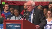 Sanders Outlines Path to Victory at Evansville Rally
