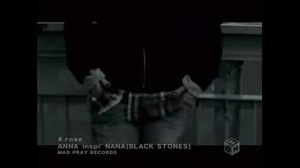 Anna inspi Nana (black Stones) - Rose