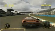 Race Driver Grid Saleen S7r Donington Park gameplay