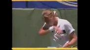 Steffi Graf vs Mary Joe Fernandez. Australian Open 1990 Final