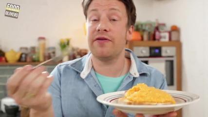 Бъркани яйца - 3 ways Jamie Oliver
