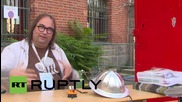 """Germany: """"Kevin"""" the flame-throwing TRANSFORMER heats up Berlin's Maker Faire"""