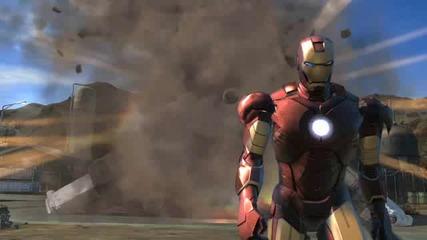 Iron Man 2 - Game Trailer