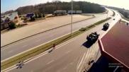 Руски безпилотен дрон снима в Полша - американските машини на път за Украйна - 04.04.2015
