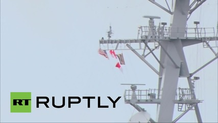 Latvia: US destroyer arrives in Riga
