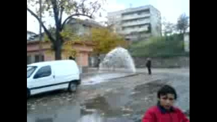 Уличен Фонтан в гр.  Вършец