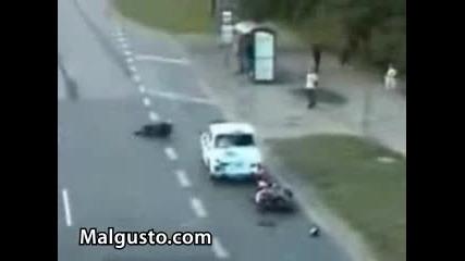 Най - лошото за един мотоциклетист