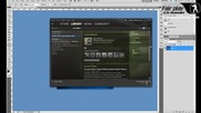 Фотошоп Vbox7tuts аватар фикс / Photoshop vbox7 avatar fix