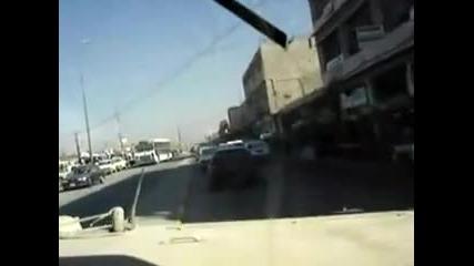 В Ирак Се Справят С Трафика Ето Така!