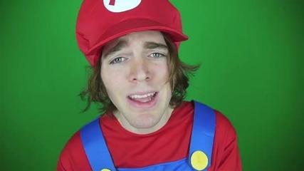Супер Марио в истинския живот!! Смях с Shane Dawson