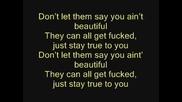 eminem - Beautiful(lyrics)