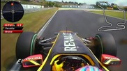 F1 Hungary 2010 Onboard lap