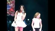 Hoedown Throwdown - Miley Cyrus & Noah Cyrus - Dec. 2. 2009. American Airlines Arena.