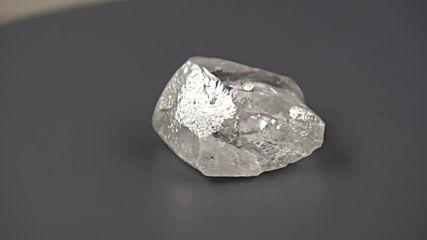207-каратов диамант е открит в Русия. Голям е колкото тенис топка