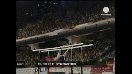 С последните пет финала завърши европейското по спортна гимнастика