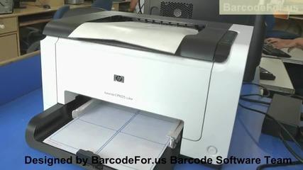 Дизайн и печат на баркод етикети за различни индустрии