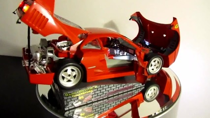 Ferrari F40 Led Umbau 1:18 Mini Car