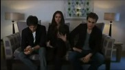 Dailymotion Nina Dobrev Paul Wesley Ian Somerhalder Interview