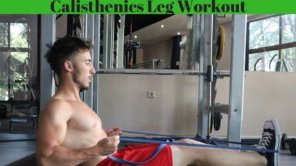Calisthenics Leg Workout ( NO EQUIPMENT ) 2019