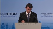 """Germany: """"Hyper-terrorism is here to stay"""" warns French PM"""